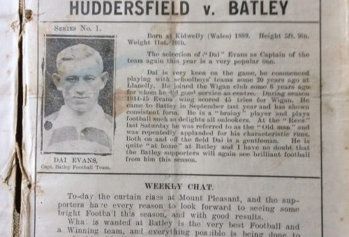 Programme 4th Sept 1920