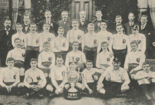 Team Photo 1897 First Challenge Cup Winners